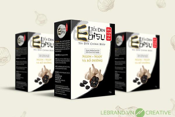 Thiết kế bao bì Ebisu Food
