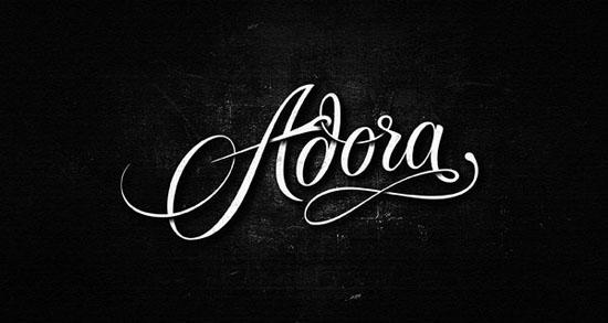 Cách sử dụng Logo chữ viết tay