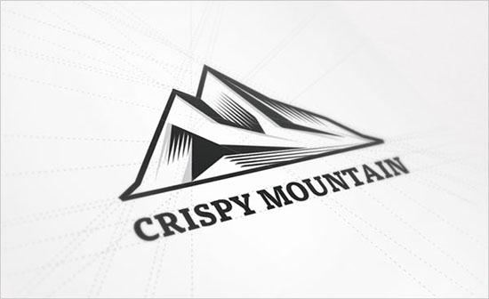 Phong cách nét cắt trong thiết kế Logo