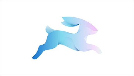 Sử dụng màu chuyển tạo khối cho Logos