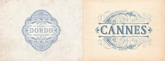 Phong cách cổ điển (Vintage) trong thiết kế logo