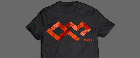 Thiết kế bộ nhận diện thương hiệu OnMedia Collaterals bởi Donn Rae Chua