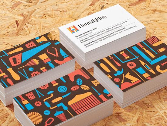 Thiết kế nhận diện thương hiệu Swedish Handicraft Societies bởi Snask