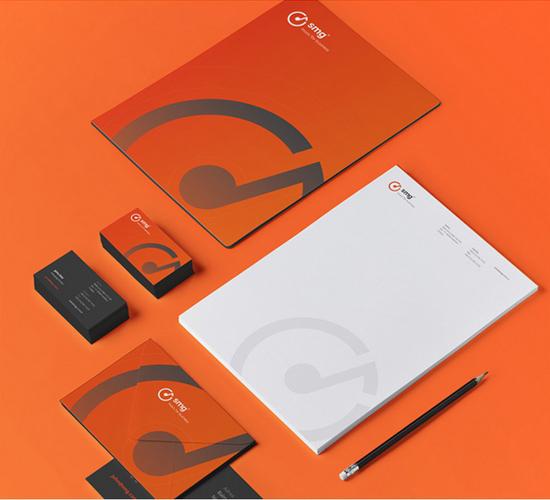 Thiết kế nhận diện thương hiệu SMG bởi Tansel Turunz