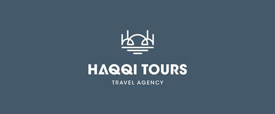 Haqqi Tours 25 bộ nhận diện thương hiệu không thể đẹp hơn