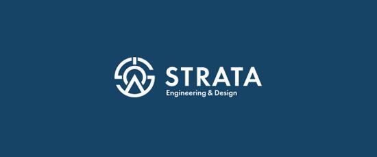 Strata 25 bộ nhận diện thương hiệu không thể đẹp hơn