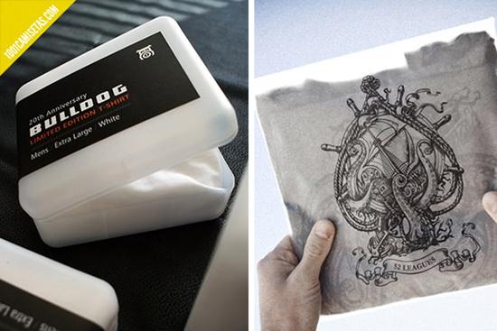 25 mẫu thiết kế bao bì cho áo thun cực cool