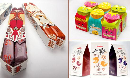 Những mẫu thiết kế bao bì đẹp lạ cho cảm hứng sáng tạo của bạn