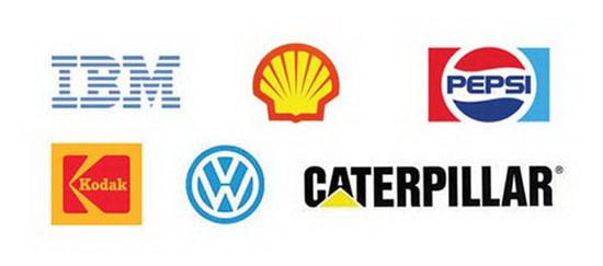 Những logo sử dụng không gian âm.