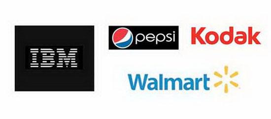 Các thương hiệu dần định hình cho mình phong cách thiết kế logo.