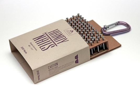 58 mẫu thiết kế bao bì tuyệt đẹp - Nail packaging