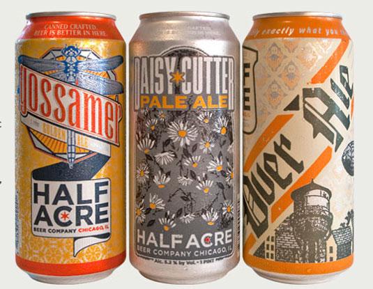 58 mẫu thiết kế bao bì tuyệt đẹp - Half Acre beer