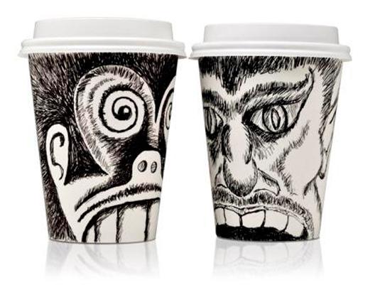 58 mẫu thiết kế bao bì tuyệt đẹp - Face Cups