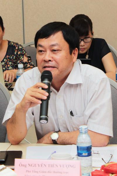 Ông Nguyễn Tiến Vượng - Phó Tổng Giám đốc thường trực – Tổng công ty Thương mại Hà Nội (Hapro)