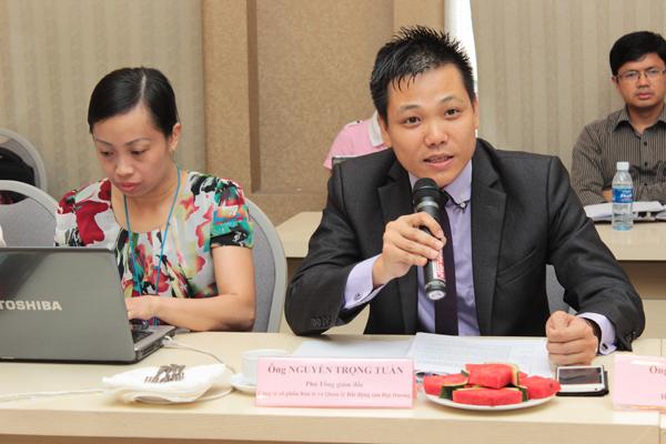 Mở cửa thị trường bán lẻ Việt Nam: Cơ hội và thách thức - Ông Nguyễn Trọng Tuấn - Phó tổng giám đốc Công ty cổ phần Bán lẻ và Quản lý Bất động sản Đại Dương