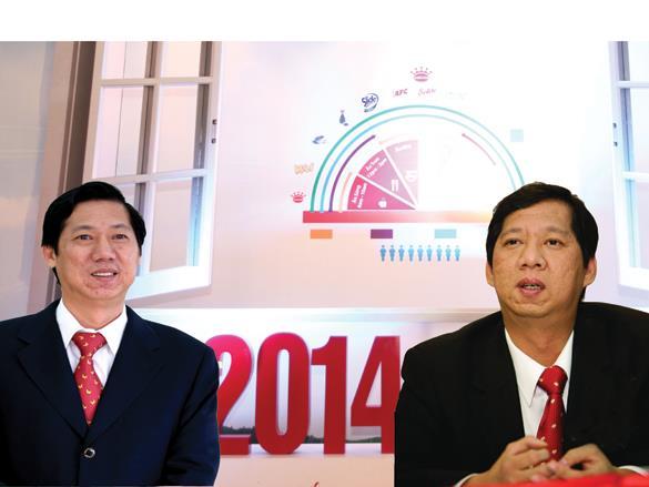 Cặp đôi doanh nhân quyền lực bẻ lái Kinh Đô
