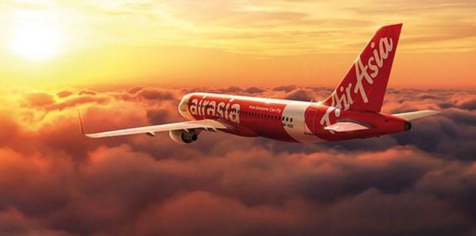 Một chiếc máy bay của AirAsia.