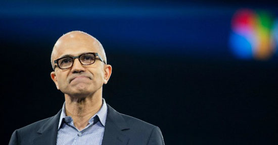 Satya Nadella - CEO Microsoft. Ảnh: Newyorker