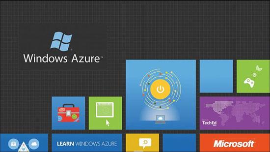 Dịch vụ máy tính đám mây Azure của Microsoft.