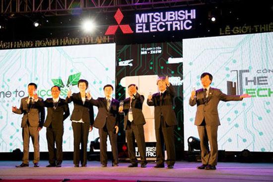 Buổi lễ công bố giới thiệu sản phẩm mới: tủ lạnh thông minh thế hệ mới của Mitsubishi Electric tại Việt Nam