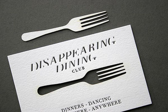 Disappearing Dining Club.