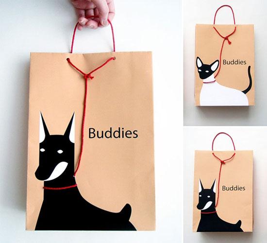 Những chiếc túi độc đáo dành cho những người yêu thú nuôi của mình, ý tưởng này là của nhà thiết kế Yuelan Liu