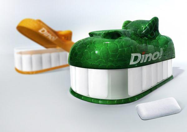 Kẹo cao su Dino