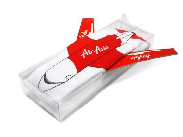 Túi đựng khăn của Air Asia