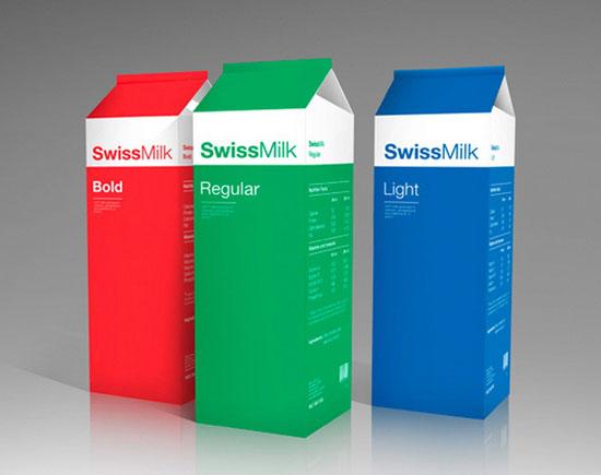 Những thiết kế bao bì sữa cực bắt mắt