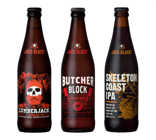 Jack black's beer by dan good design