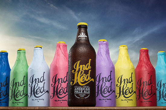 Indhed craft beer by industriahed co.
