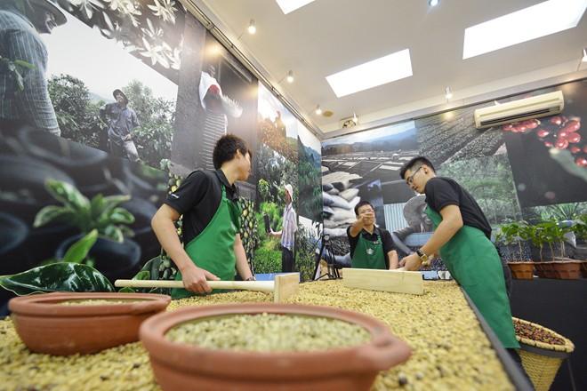 Cà phê sau khi thu hoạch, bóc tách vỏ được đem ra phơi khi ngoài trời có nền nhiệt độ trên 30 độ C và độ ẩm thấp.