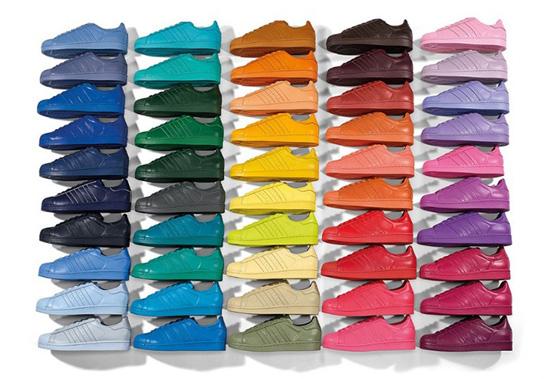 Adidas Originals Supercolor được thiết kế bởi Pharrell Williams