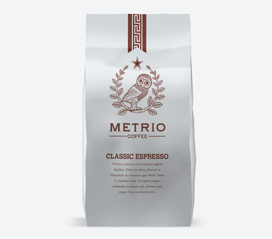 Thiết kế bao bì café đóng vai trò rất quan trọng trong việc thu hút khách hàng.