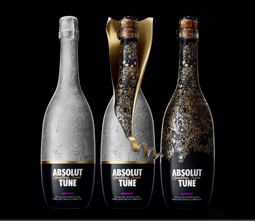 Bao bì được thiết kế độc đáo và tinh tế với 2 lớp tạo nên sự sang trọng của loại rượu này.
