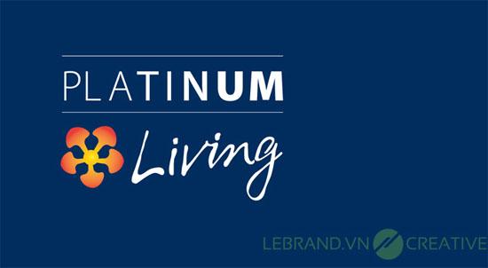 Thiết kế logo Platinum Living