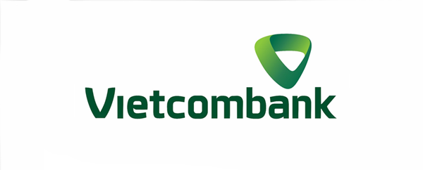 logo mới của Vietcombank vẫn giữ cho mình màu xanh lá truyền thống mang sức mạnh của tự nhiên, thể hiện sự phát triển trong cân bằng và chuẩn mực cùng khao khát mở rộng và vươn xa