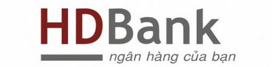 logo mới của ngân hàng HD được xây dựng lại trên nền tảng cũ được chỉnh sửa kiểu chữ và tỉ lệ cũng như thêm vào icon biểu tượng mới của ngân hàng bên cạnh phần typography.