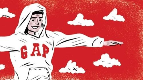 Gap top 10 thương hiệu làm thay đổi thế giới