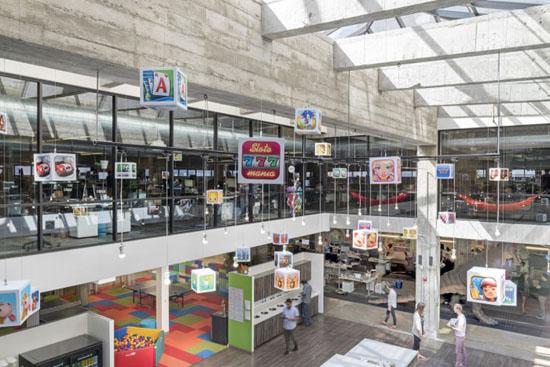 Chartboost mong muốn trụ sở của mình phải tái hiện sống động nhất thế giới trò chơi điện tử, đem lại cảm giác phấn khích, vui nhộn và có tương tác thực tế.