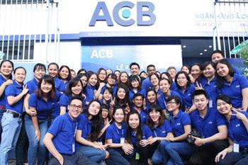 ACB thay nhận diện thương hiệu