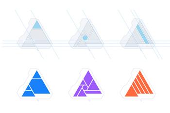 Bộ nhận diện thương hiệu mới của phần mềm thiết kế Affinity
