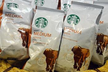 Quy trình sản xuất cà phê của Starbucks