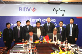 BIDV - Ogilvy & Mather Việt Nam thực hiện dự án Tư vấn xây dựng chiến lược phát triển thương hiệu
