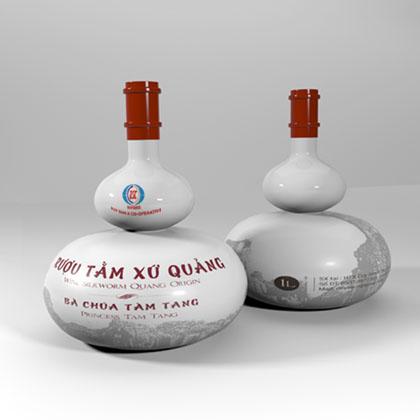 Rượu Tằm Xứ Quảng