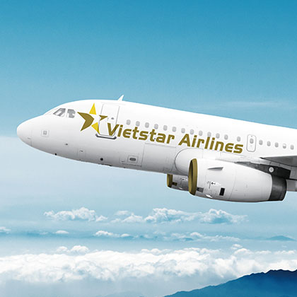 Vietstar Airlines - Logo design