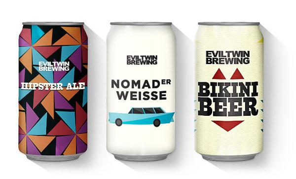 thiết kế nhãn hiệu sản phẩm đồng thời cũng là nhà đồng sáng lập của thương hiệu bia Evil Twin