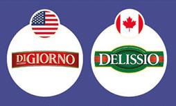 Thương hiệu Pizza lãnh của Mỹ hoạt động ở Canada dưới một cái tên khác mang phong cách Ý là Delissio.