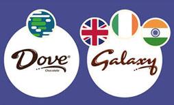 Ở hầu hết các quốc gia trên thế giới, khi hỏi về Dove, người bán sẽ đưa cho một thanh Sôcôla ngon tuyệt. Nhưng tại Ấn Độ, Ai Cập và Anh, để có một thanh Sôcôla tương tự, bạn phải hỏi về Galaxy.