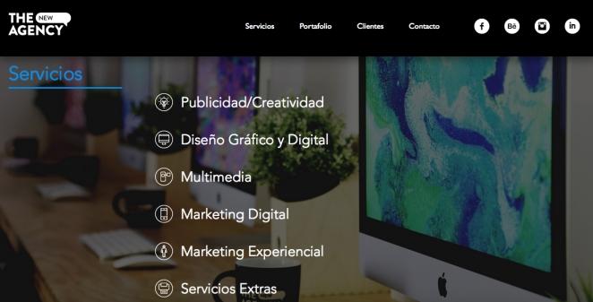 Tại đây bạn có thể thấy typograpic của họ bổ trợ trong website như thế nào.